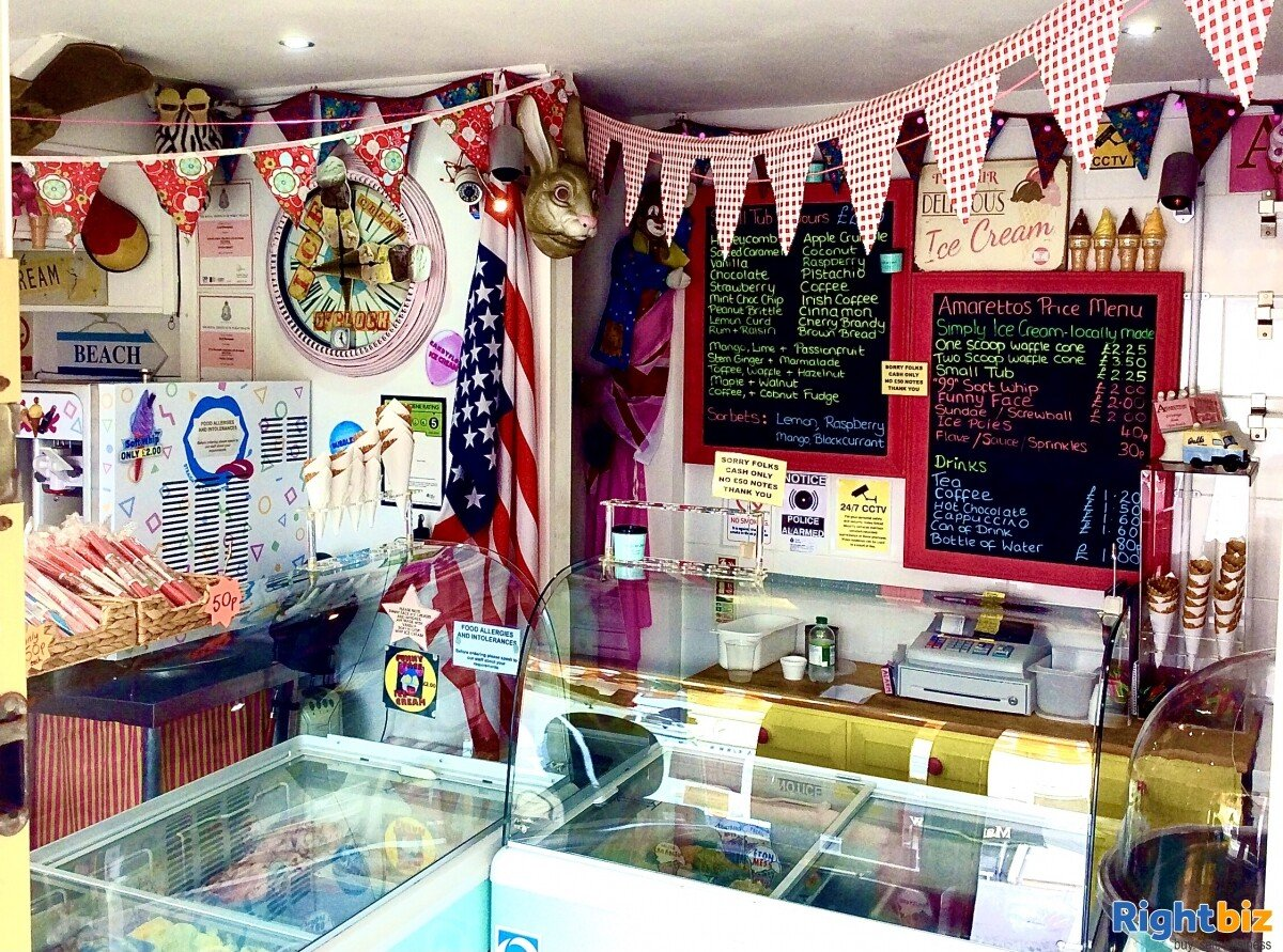 FREEHOLD ICE CREAM SHOP WITH 1 BED ACCOMMODATION FOR SALE DYMCHURCH KENT SOUTH COAST - Image 11