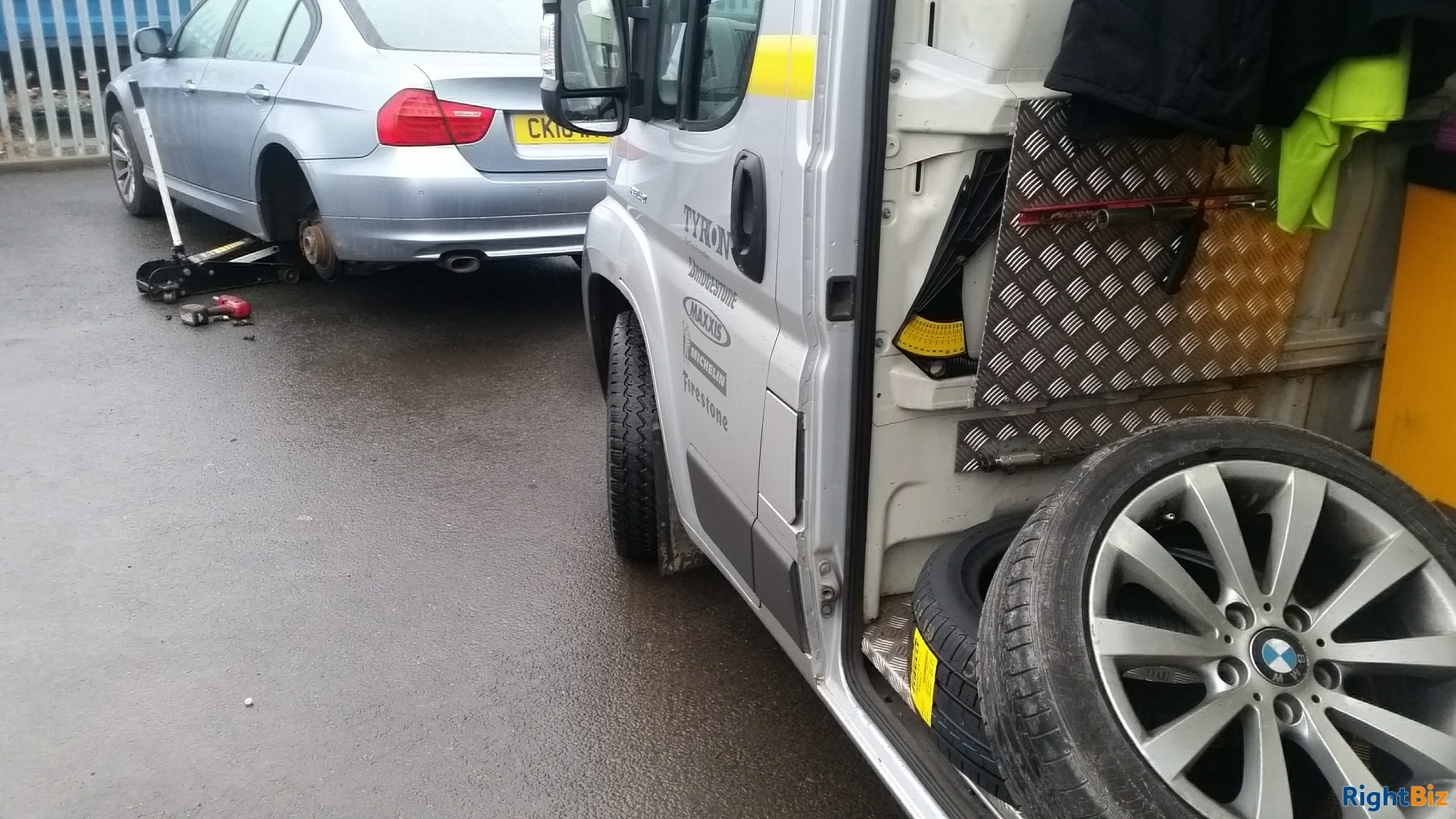 Well established mobile tyre service franchised business covering a wide area of North Hants. - Image 12