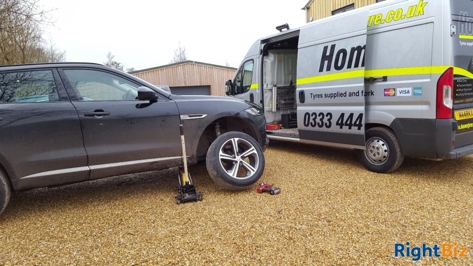 Well established mobile tyre service franchised business covering a wide area of North Hants. - Image 13