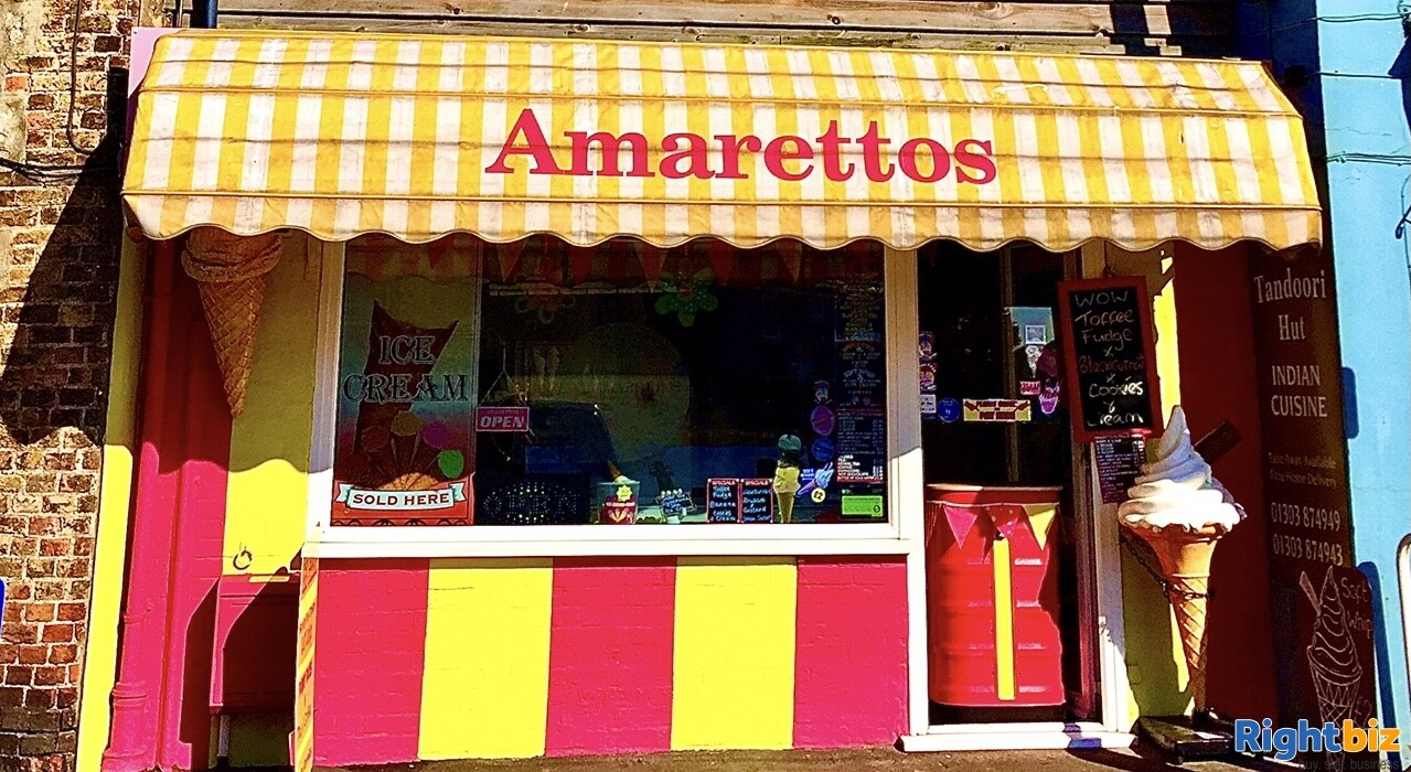 FREEHOLD ICE CREAM SHOP WITH 1 BED ACCOMMODATION FOR SALE DYMCHURCH KENT SOUTH COAST - Image 13