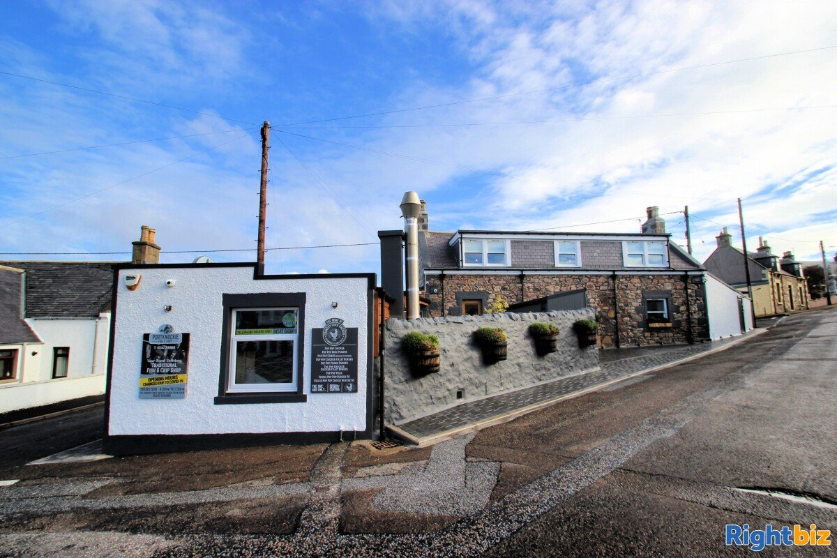Highly Profitable Takeaway with stunning 3 Bedroom Family Home, Leasehold, Moray - Image 14