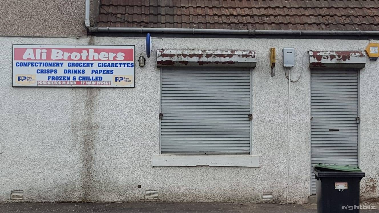 convenience store located in village of Stoneyburn in West Lothian Scotland - Image 2