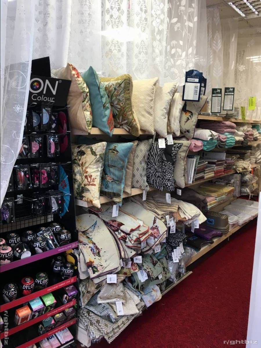 Haberdashery, Net, Curtains, craft and yarns. In shopping centre - Image 2