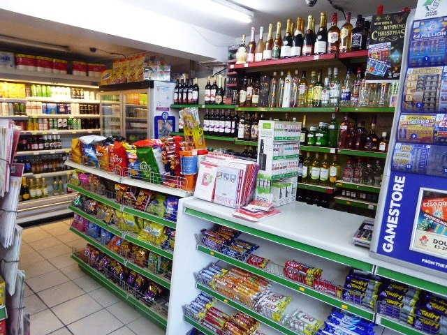 Freehold Self Service Convenience Store, Counter News, Confectionery, Tobacco, Full Free Off Licence Recommended For Early Inspection Asking Price To  - Image 2