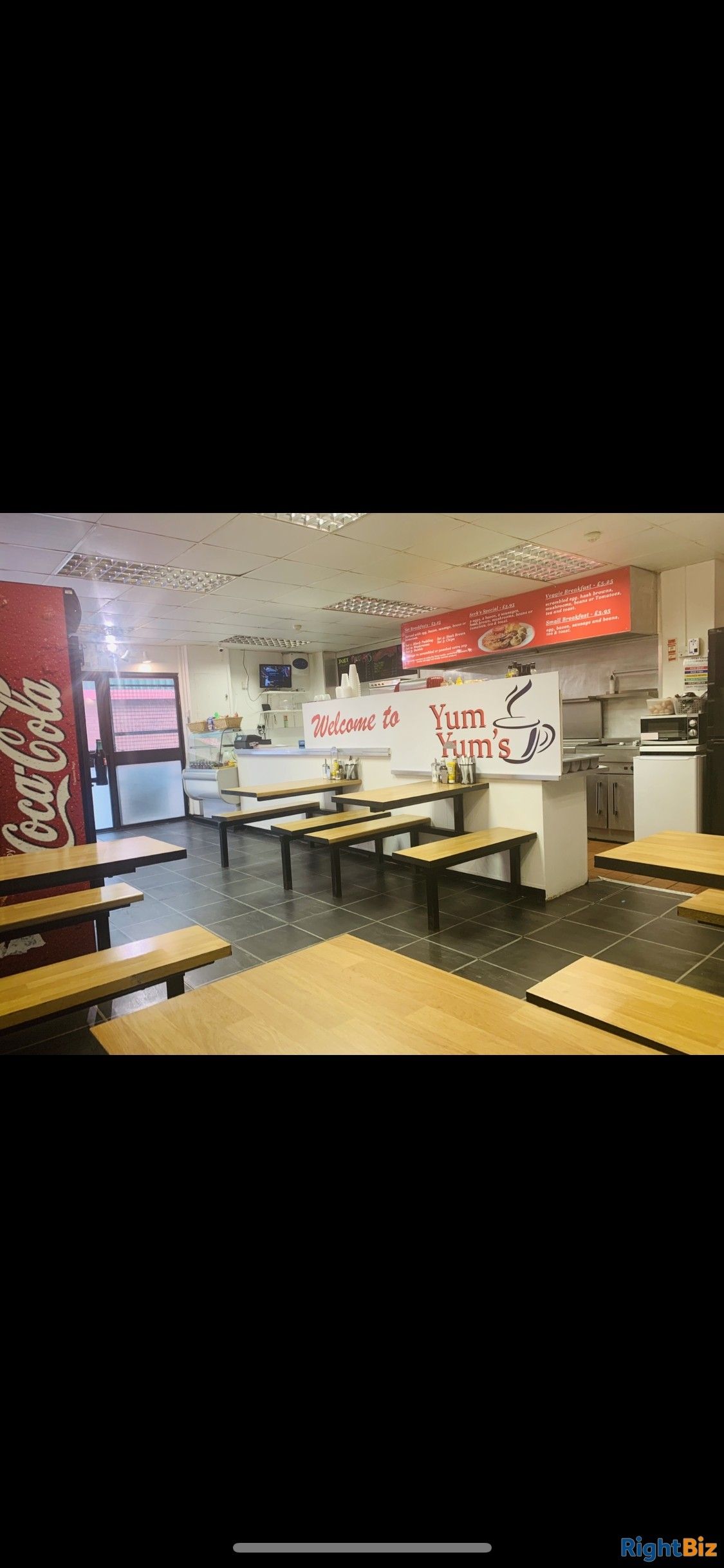 Cafe for sale - only place to eat on an industrial estate for 52 businesses - quick sale - Image 2