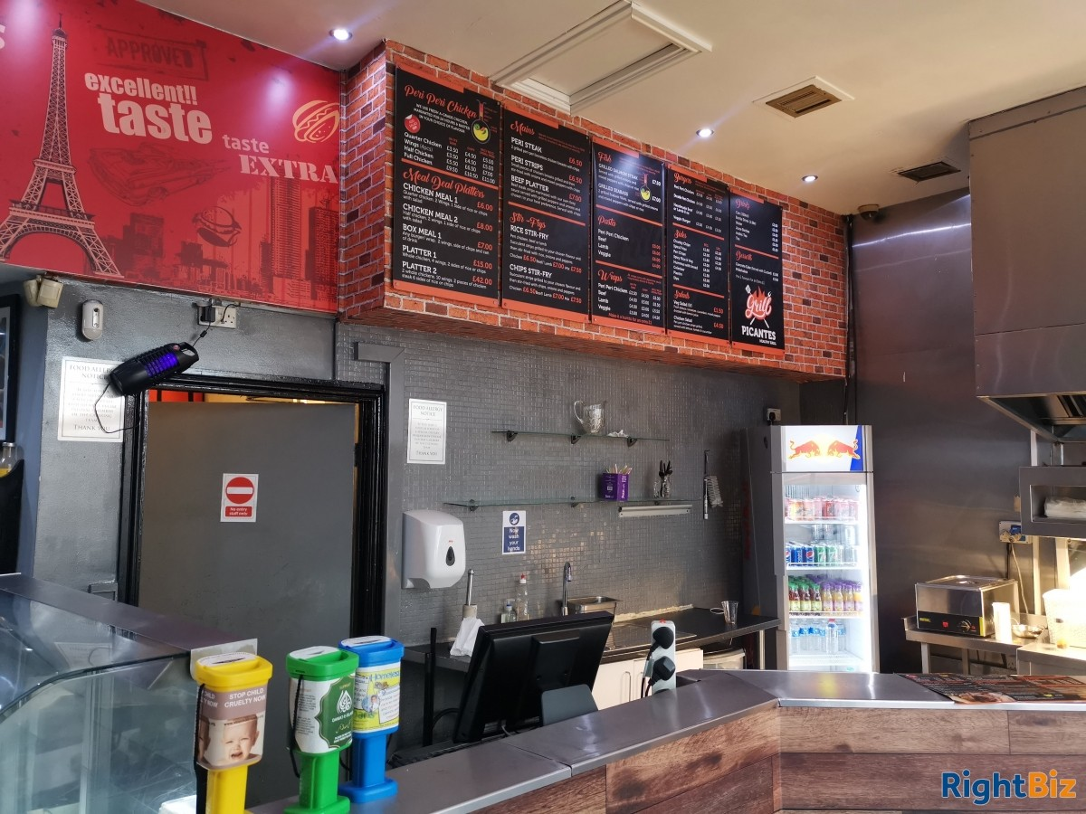 Popular Takeaway Restaurant for Sale. Prime High street location. - Image 2
