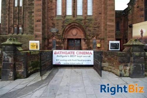 Charming Historic Arthouse Cinema In Bathgate - Image 2