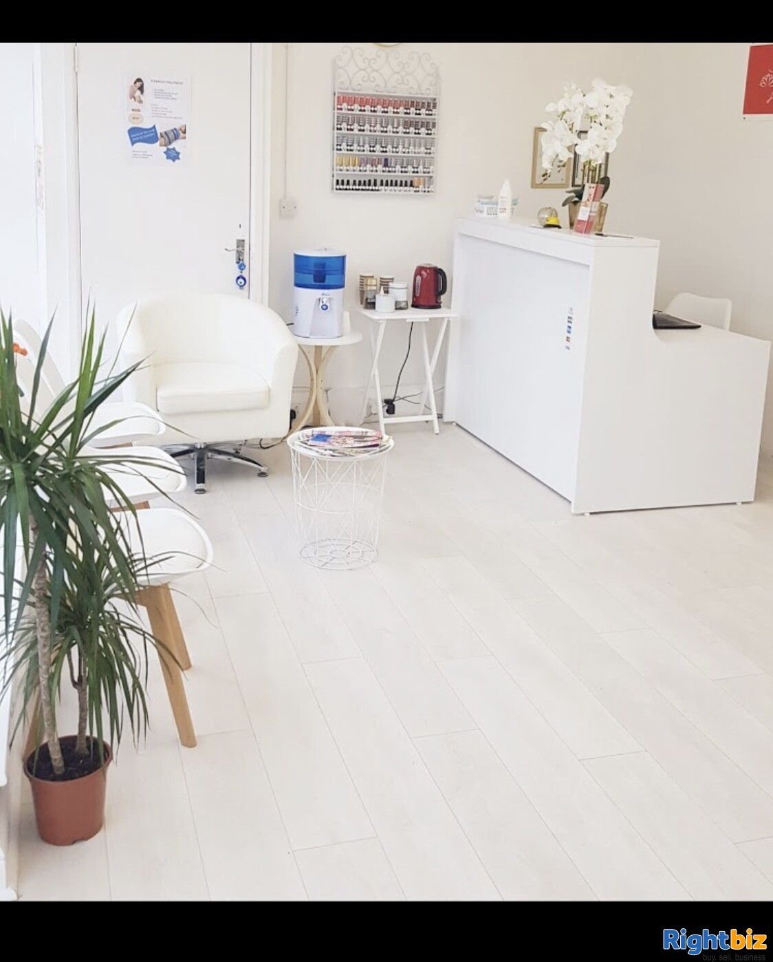 Established Nails, Tanning and Beauty salon for sale in Worthing near Brighton - Image 2