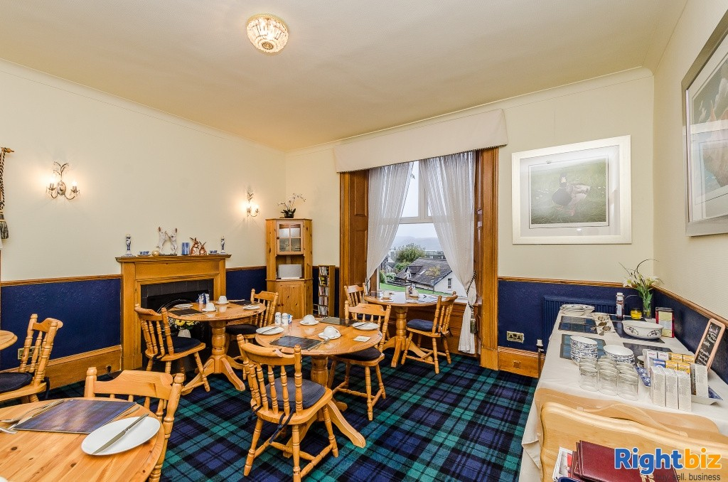 Charming Victorian Guest House for Sale in the Heart of the thriving tourist town of Oban - Image 2