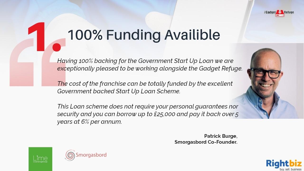 Gadget Refuge - Gadget Repair & Refurbish Franchise in Glasgow 100% Government Funding - Image 2