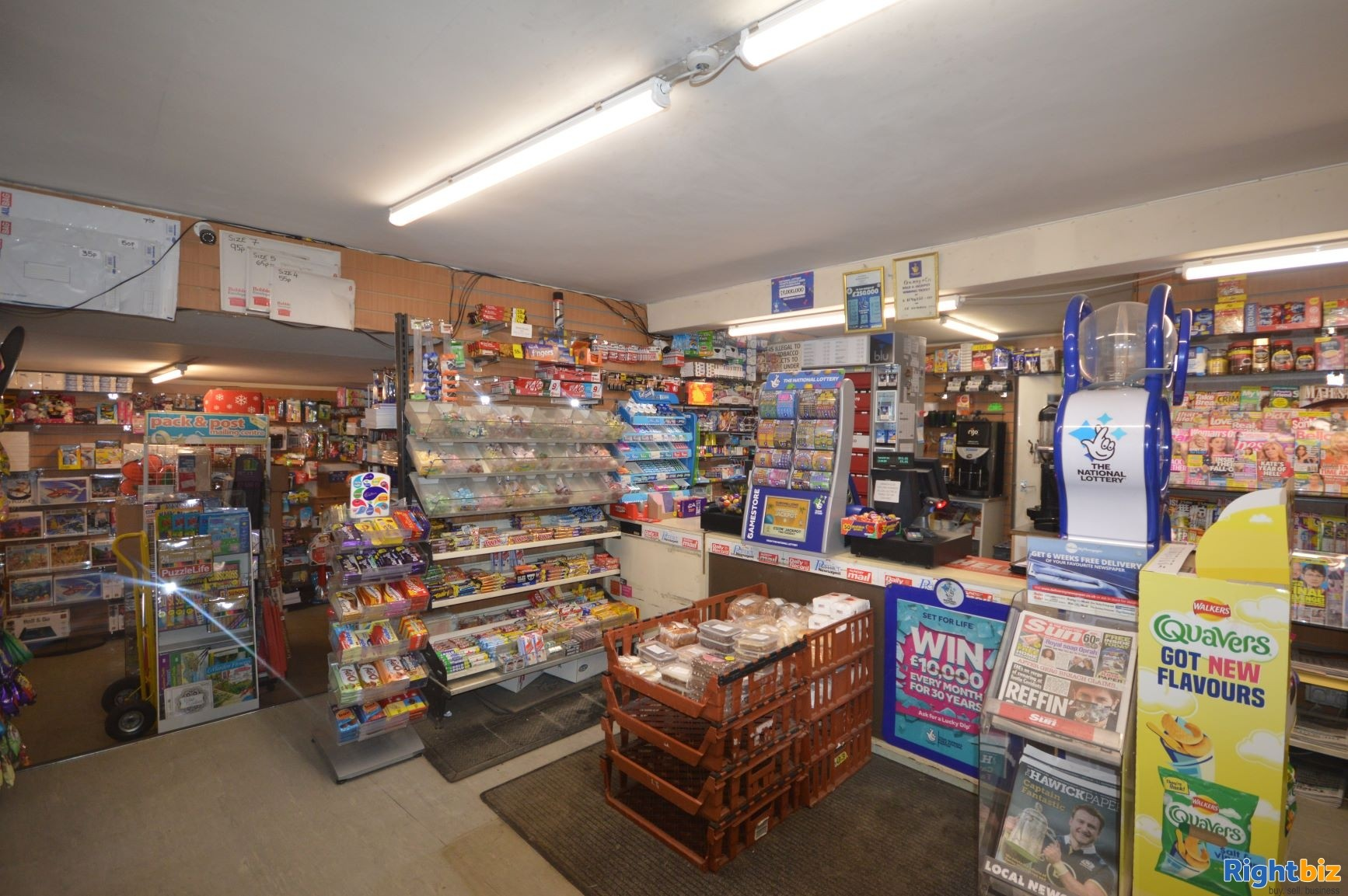 Busy traditional Newsagency business located in popular Scottish Borders town (ref 1367) - Image 2