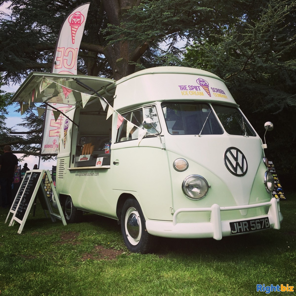 Vintage VW Ice Cream Van business x 3 units - The Split Screen Ice Cream Co. - Image 2