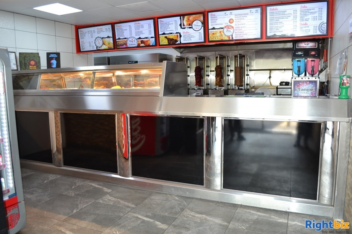 £7,000 + Per Week Fish and Chip Shop, prime location - Image 2