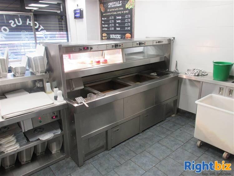 Established Fish & Chip Shop for Sale in Cradley Heath - Image 2