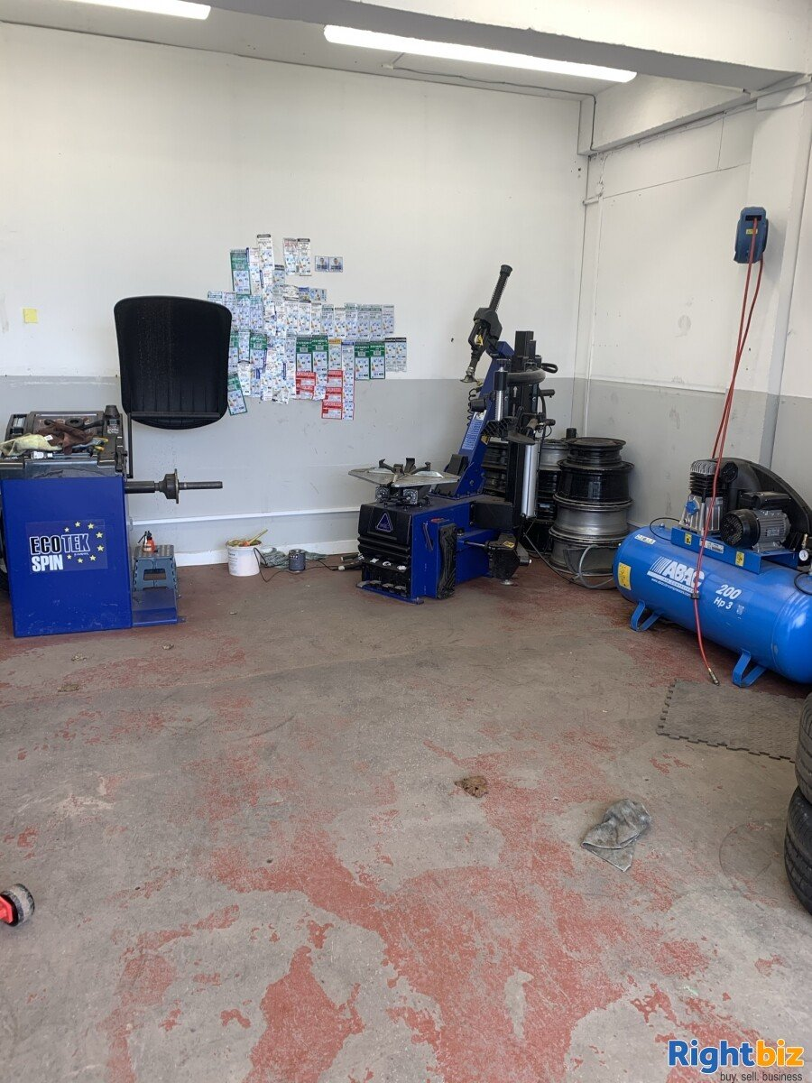 Tyre business for sale in Glasgow Scotland - Image 2