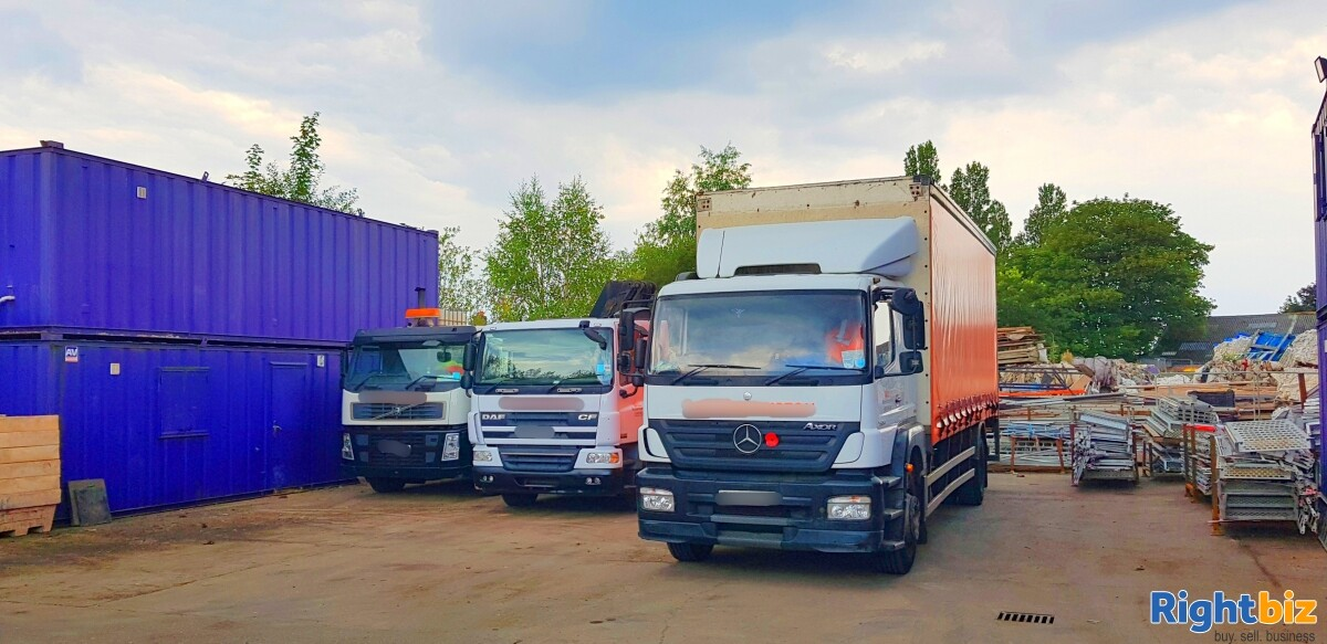 Profitable Haulage and Crane Hiring Business for sale in Wolverhampton, Construction Business - Image 2