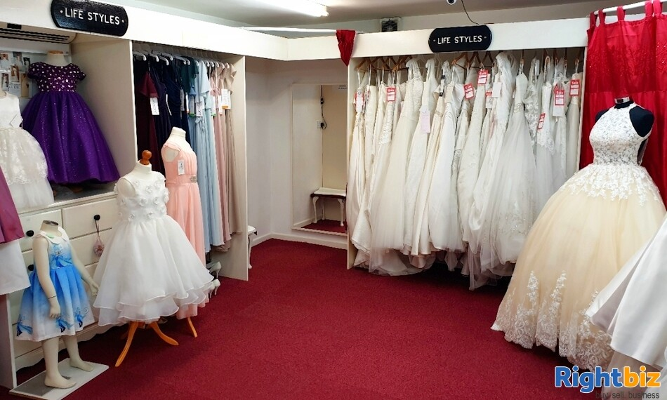 Fully Equipped Bridal Wear Boutique Retail Business for Sale in Wolverhampton - Image 2