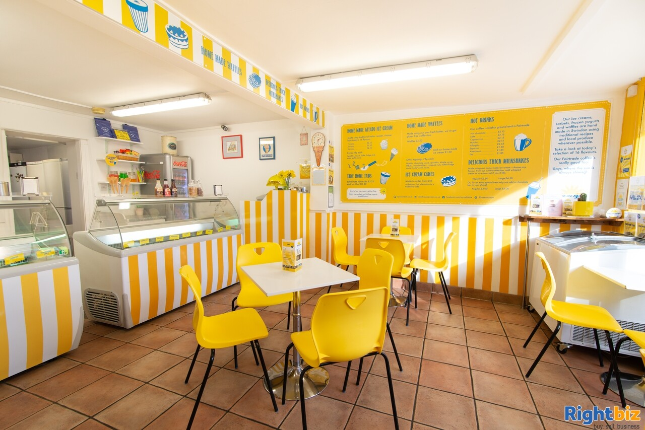 Growing, premium ice cream business - parlour, manufacturing, wholesale, events - Image 2