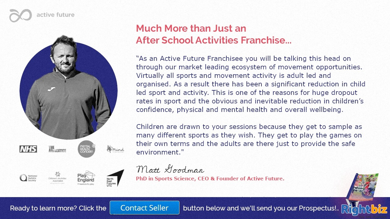 Award Winning After Schools Activities Franchise Guaranteed 100% Govt Funding in St Asaph - Image 2