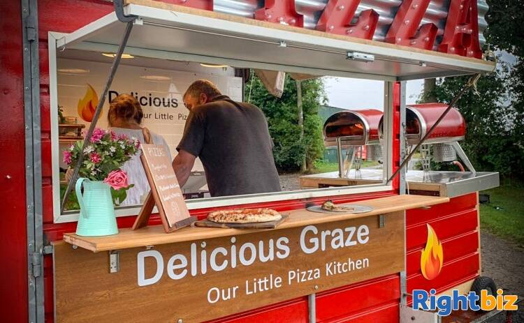 External Pizza Catering Business for Weddings & Events in Shropshire - Image 2