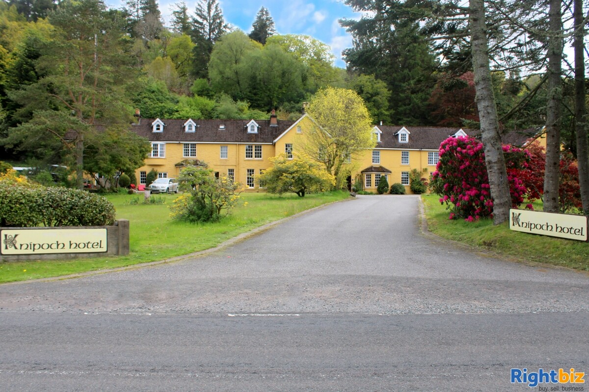 Spectacular 18-Bedroom Hotel within Beautiful Loch-Side Setting, near Oban - Image 2
