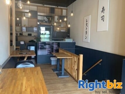 Very Popular Sushi Restaurant and Takeaway in Great Condition Edinburgh - Image 2