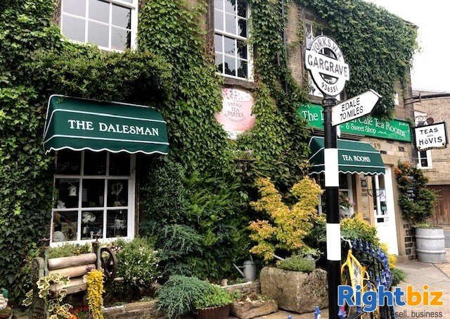 Café Tearooms & Sweet Shop with Extensive Owners Accommodation Gargrave Skipton North Yorkshire - Image 2