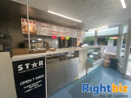 Edinburgh City Centre Class 3 Hot Food Takeaway Fully Equipped - Image 2