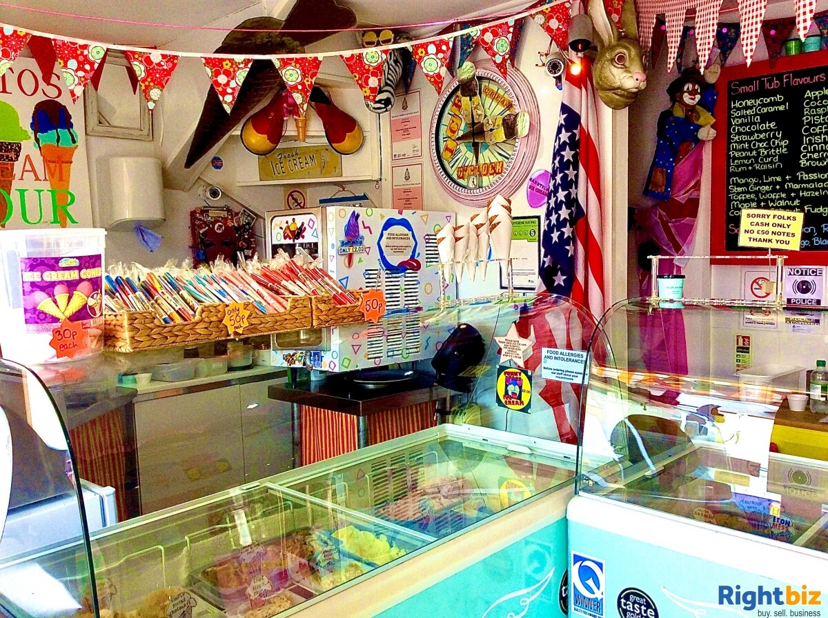 FREEHOLD ICE CREAM SHOP WITH 1 BED ACCOMMODATION FOR SALE DYMCHURCH KENT SOUTH COAST - Image 2