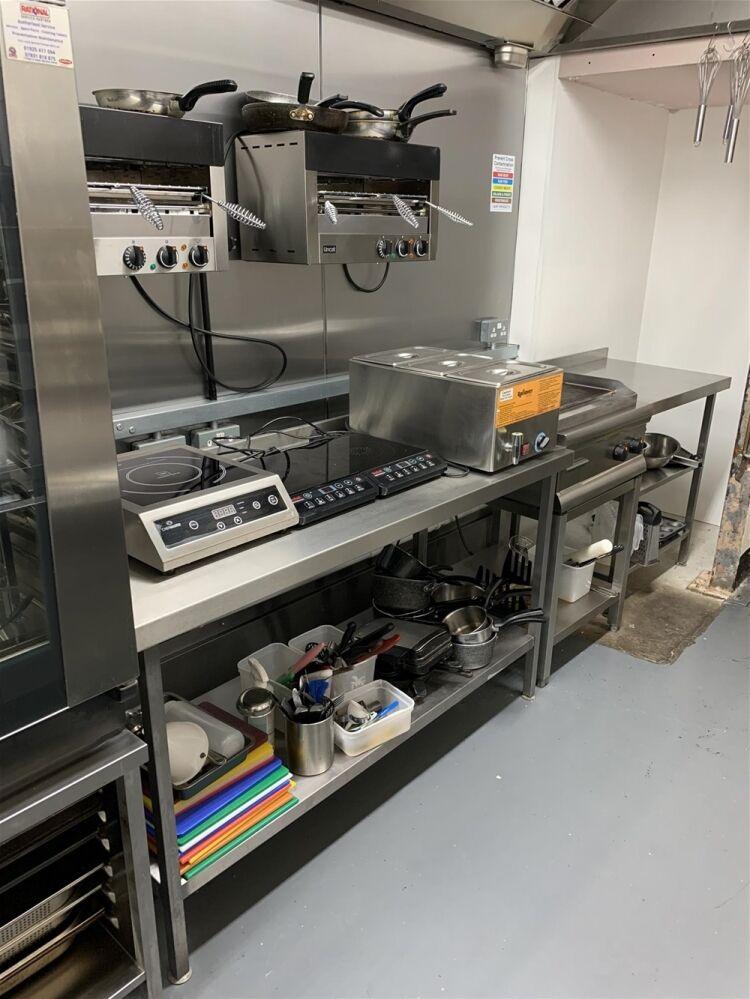 Industrial Dark Kitchen Supplying Halal American British Cuisine - Image 2