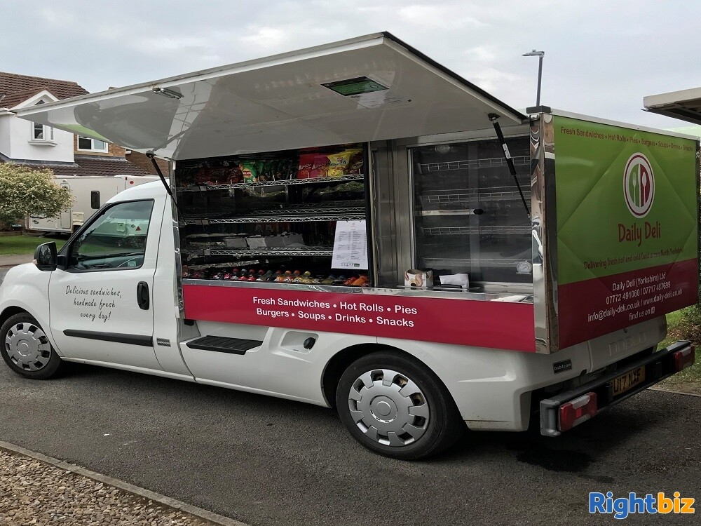 Well-known Mobile Sandwich Van & Hot Food Delivery Business - Image 2