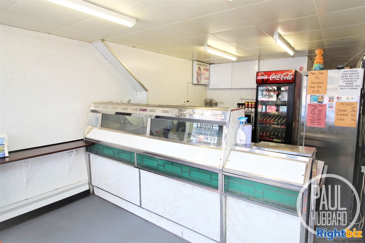 Freehold Fish & Chip Shop with 3 bedroom maisonette for sale in Great Yarmouth, Norfolk. - Image 2
