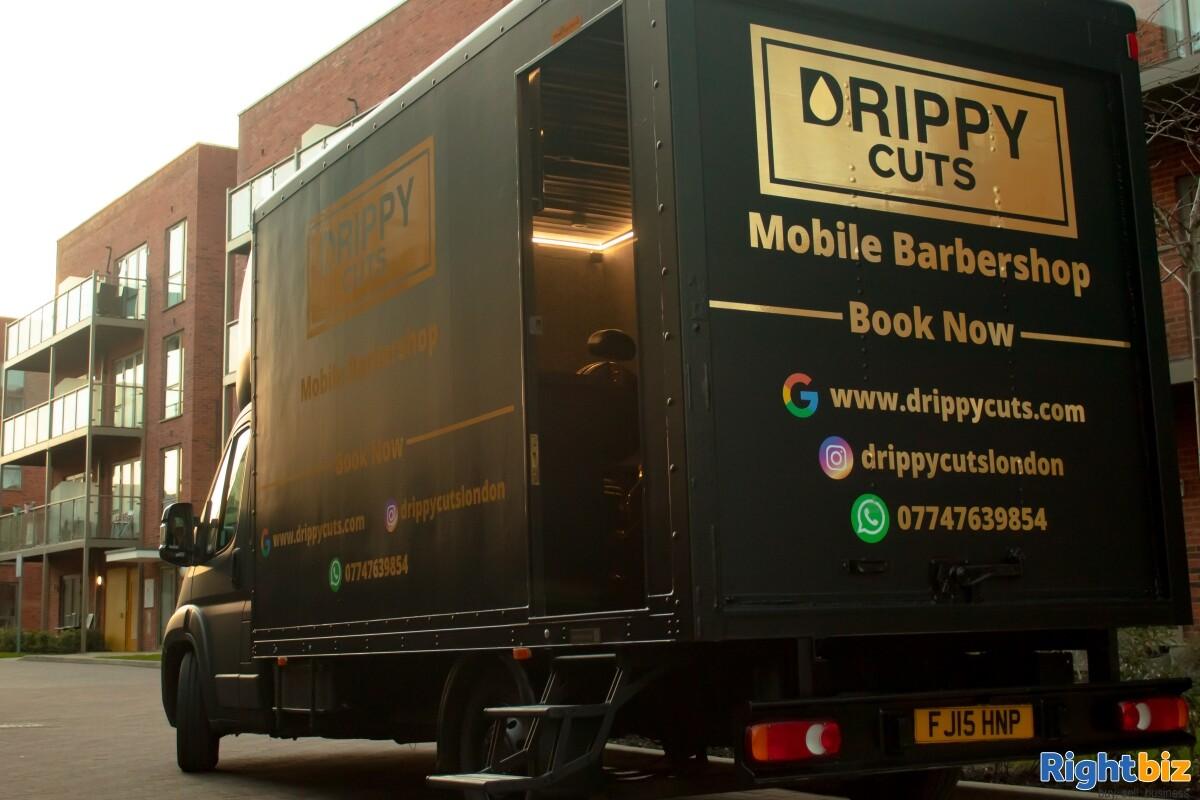 Luxurious Mobile Barbershop Van For Sale - Image 2