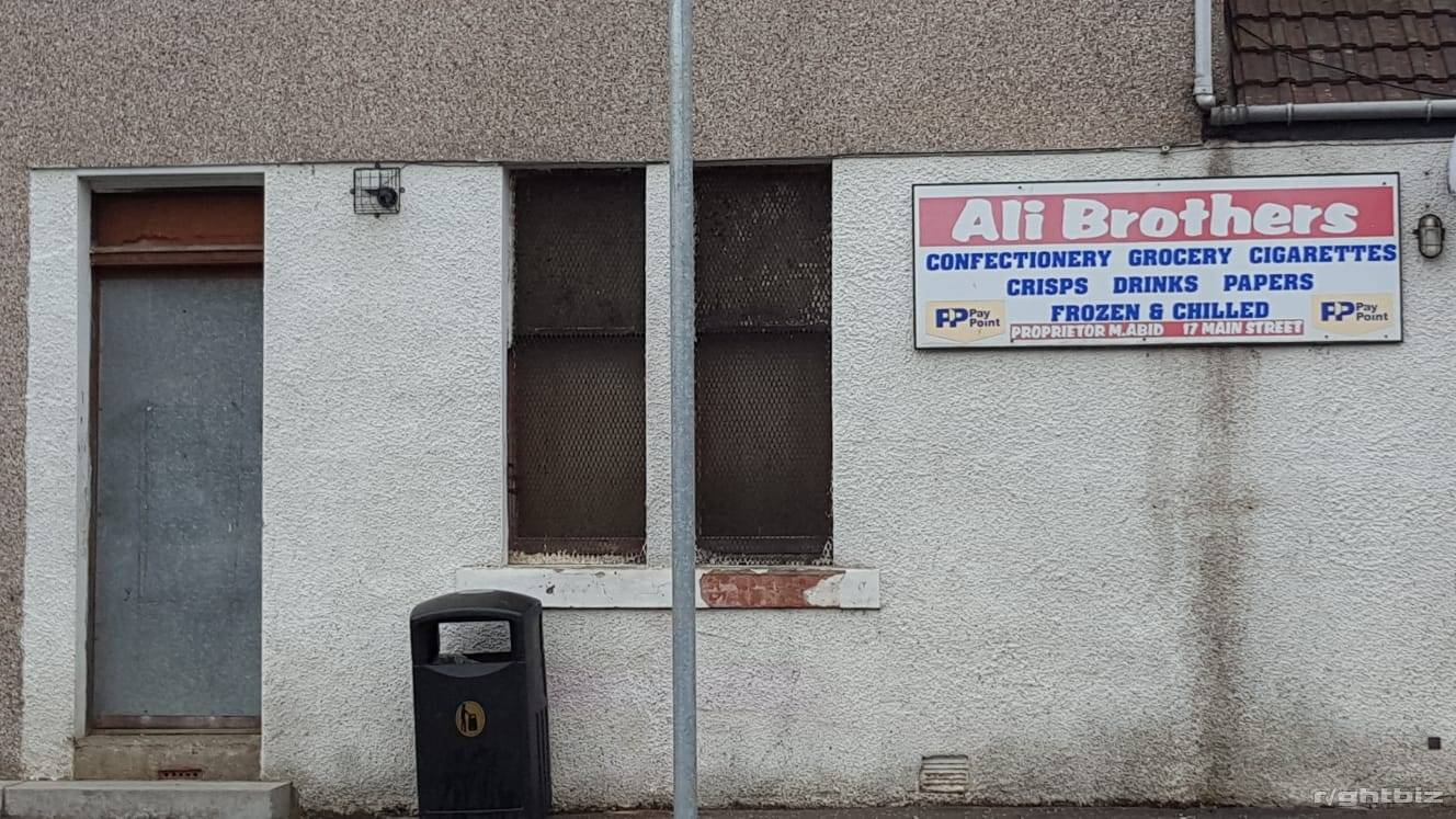 convenience store located in village of Stoneyburn in West Lothian Scotland - Image 3