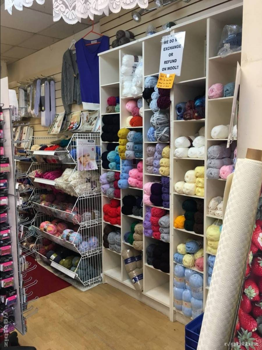 Haberdashery, Net, Curtains, craft and yarns. In shopping centre - Image 3