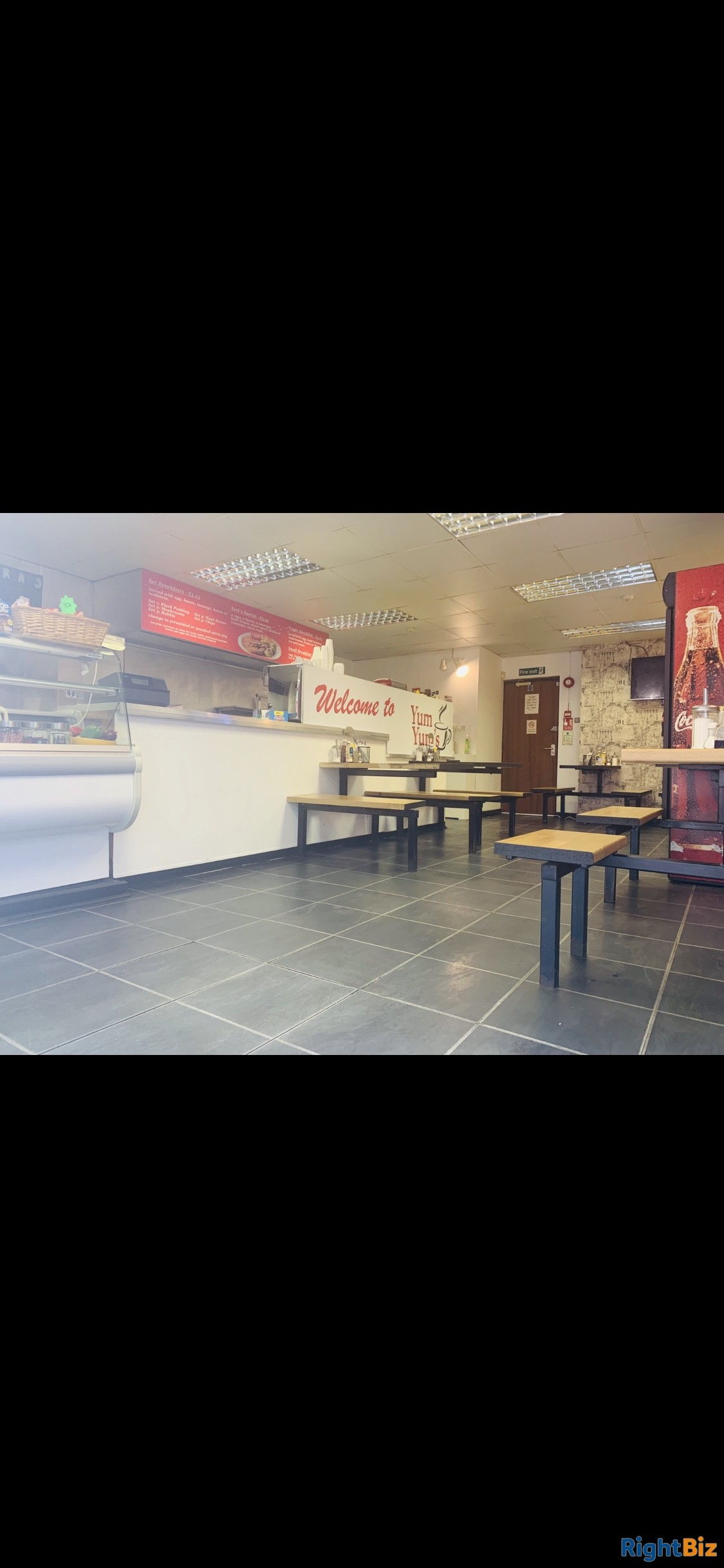 Cafe for sale - only place to eat on an industrial estate for 52 businesses - quick sale - Image 3