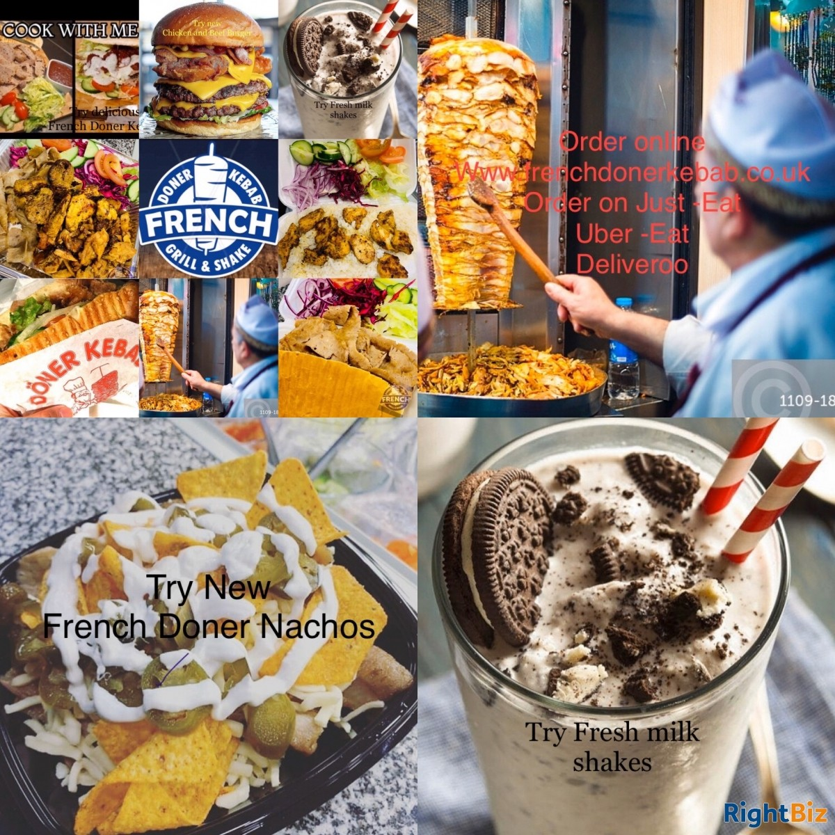 French Doner Kebab Shake and Grill - Image 3