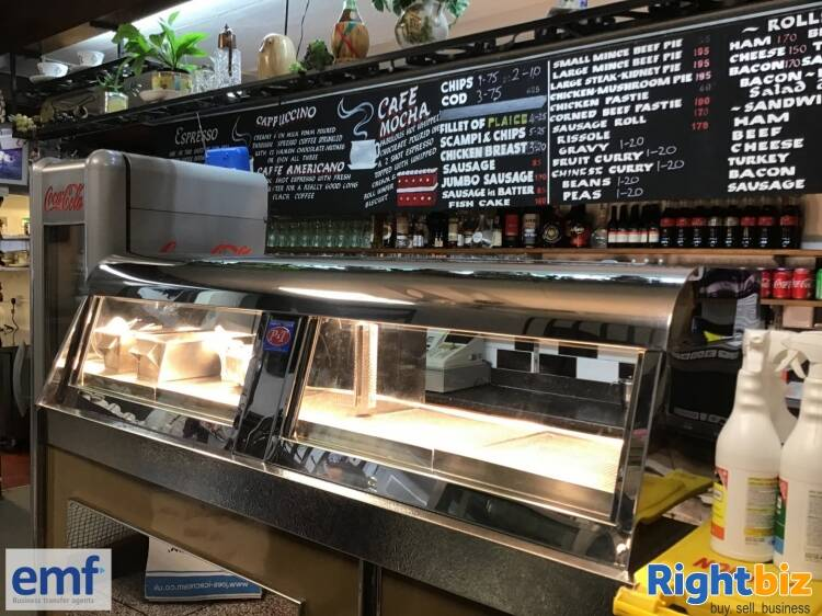 EXCELLENT CHIP SHOP/CAFE WITH NICE OWNERS ACCOM, MOUNTAIN ASH, MID GLAMORGAN. - Image 3