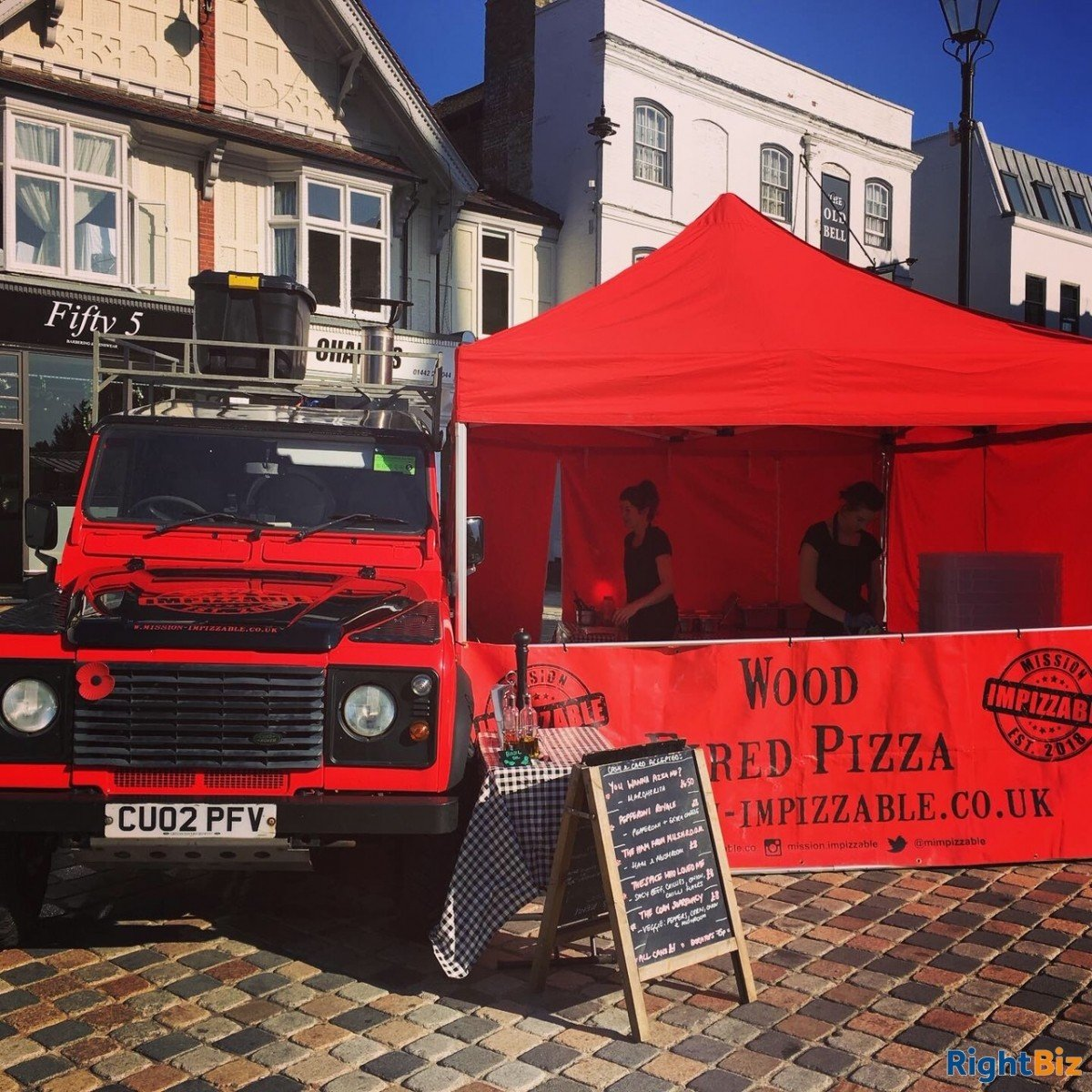 Land Rover Wood Fired Pizza Business, quirky and attractive with prospects - Image 3