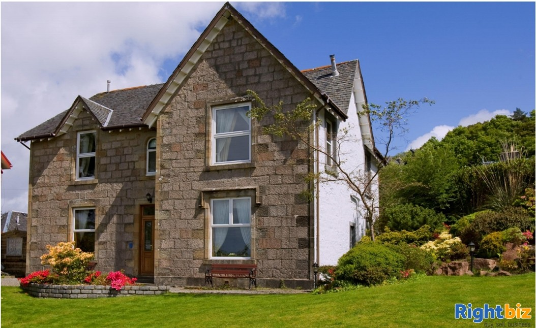 Charming Victorian Guest House for Sale in the Heart of the thriving tourist town of Oban - Image 3