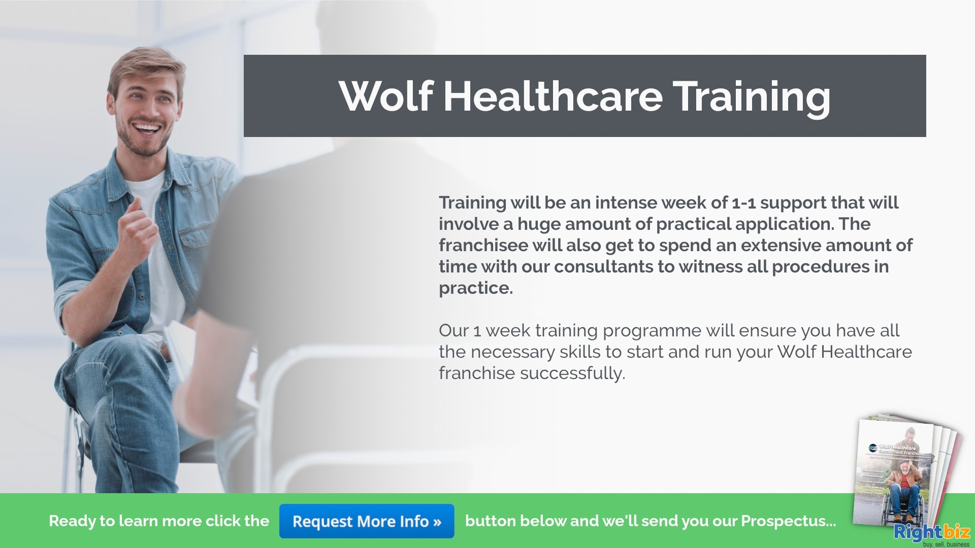 Join One Of The UK's Fastest Growing Franchises Wolf Healthcare Recruitment St Asaph - Image 3