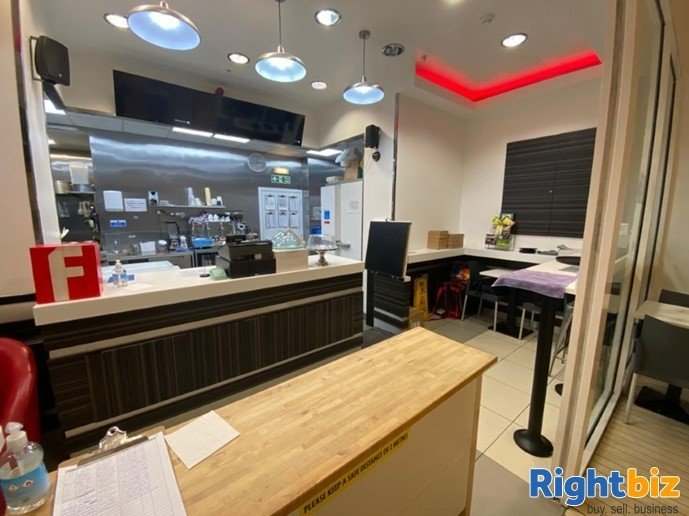 50 Cover Full Class 3 Cafe Located in Busy Shopping Centre in Fife - Image 3