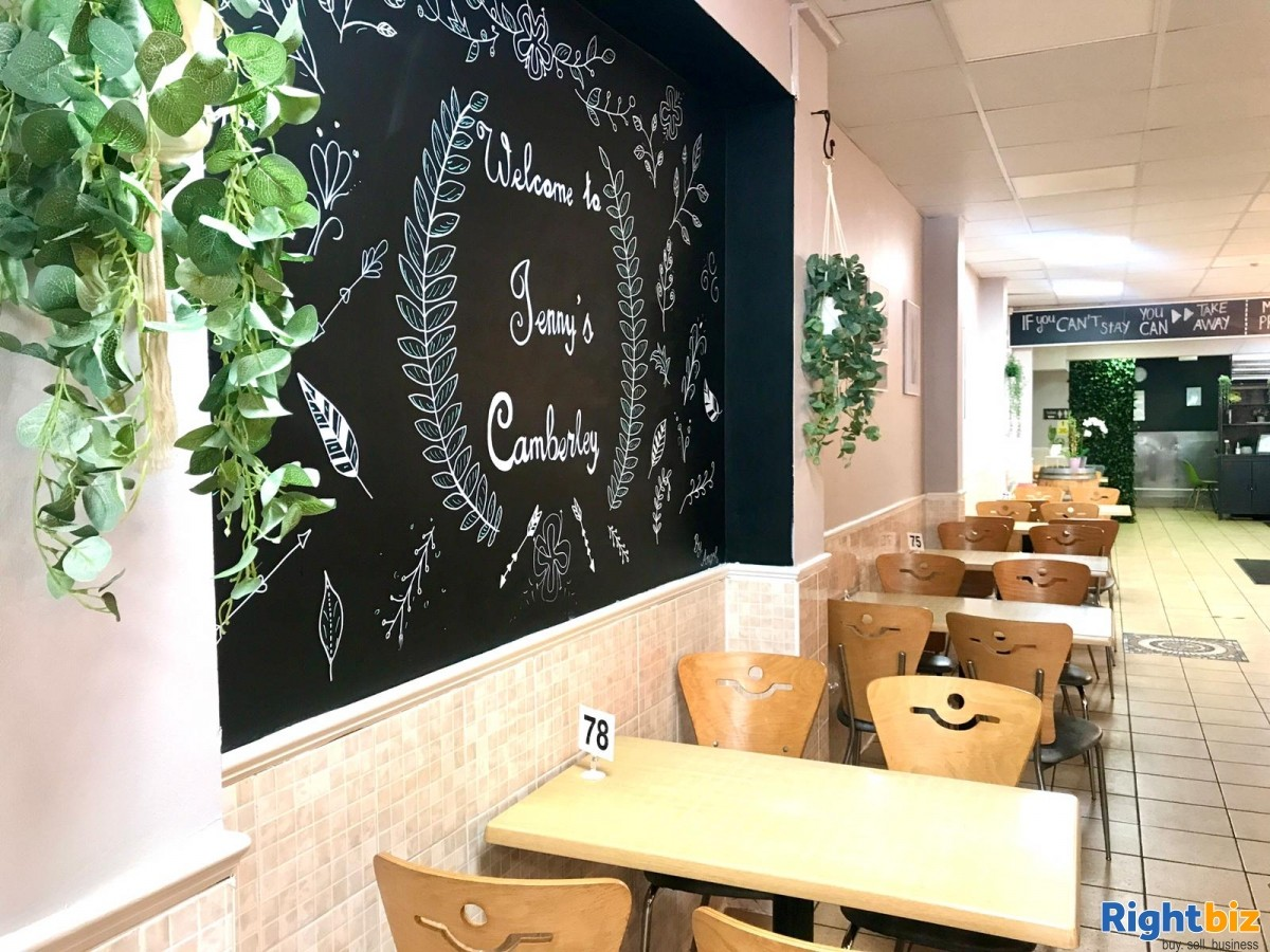 Busy Cafe/Restaurant for sale (120 seats), located on high street, with a large 2 bedroom flat - Image 3