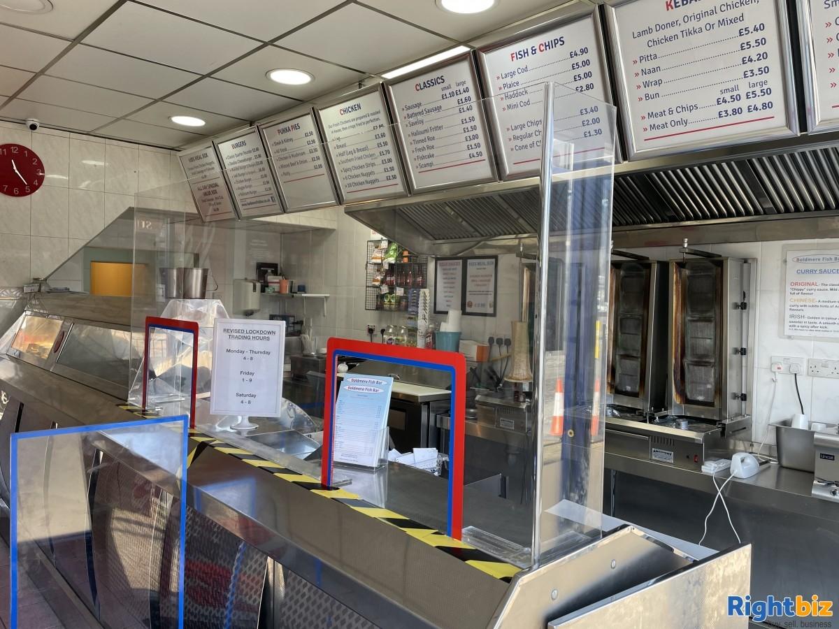 Well Established Fish & Chip Shop for Sale - Image 3