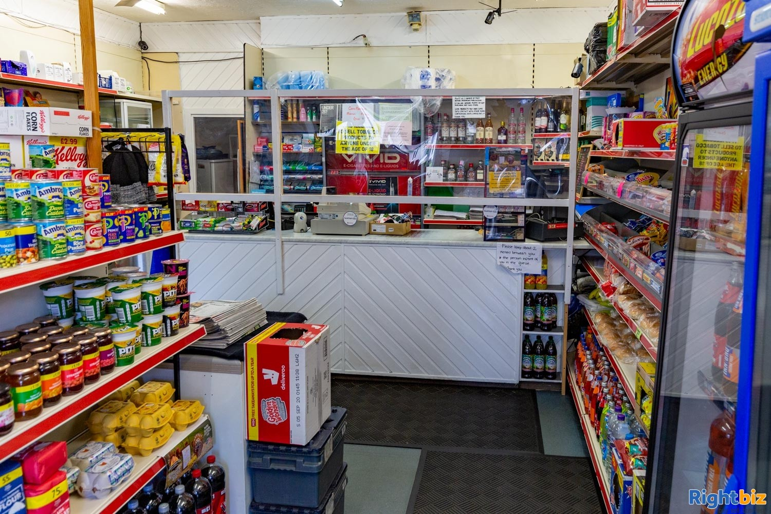 Busy Leasehold Newsagents & Convenience Store For Sale, Stenhousemuir - Image 3