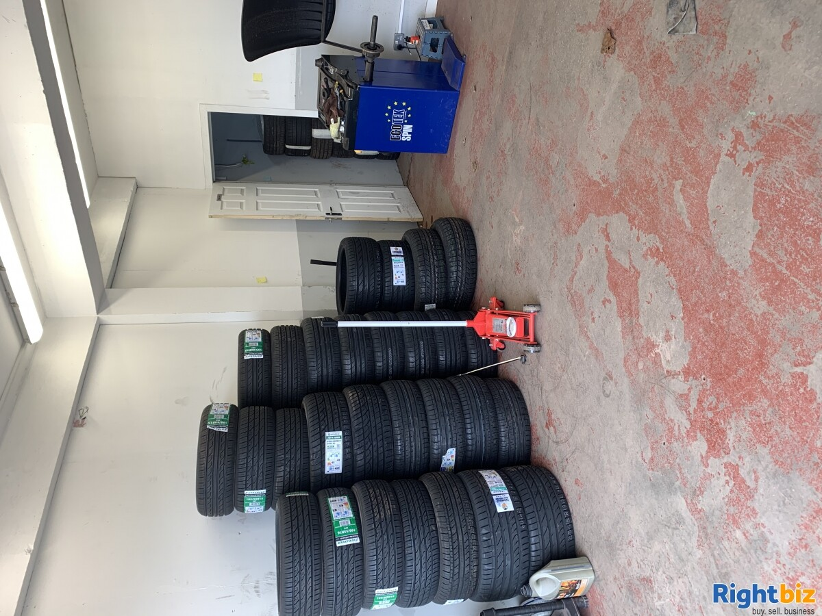 Tyre business for sale in Glasgow Scotland - Image 3