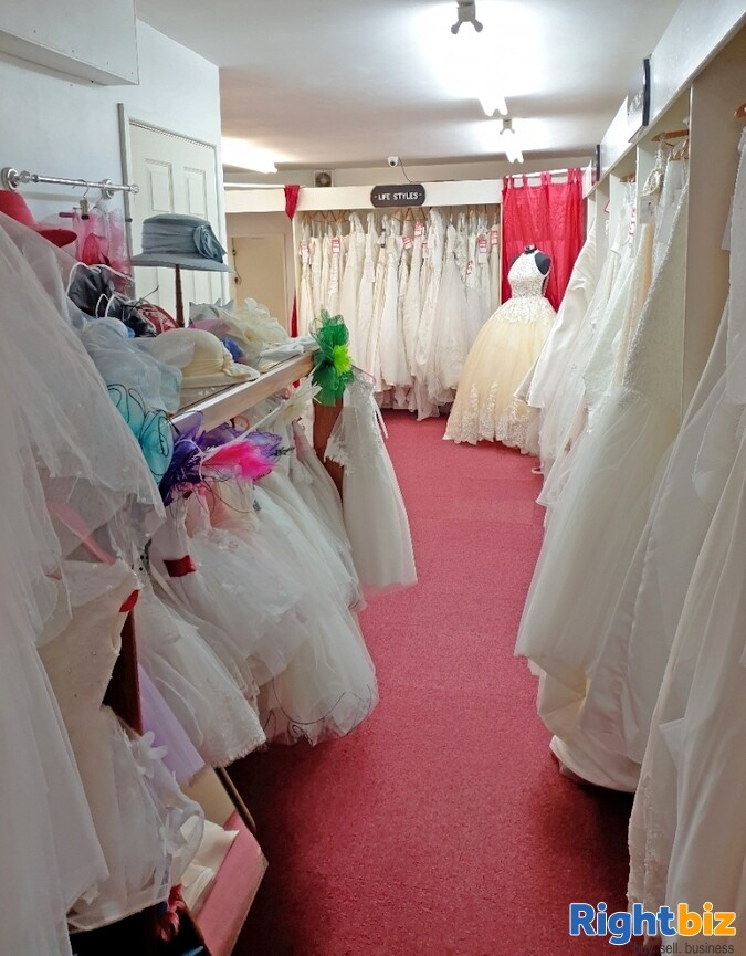 Fully Equipped Bridal Wear Boutique Retail Business for Sale in Wolverhampton - Image 3