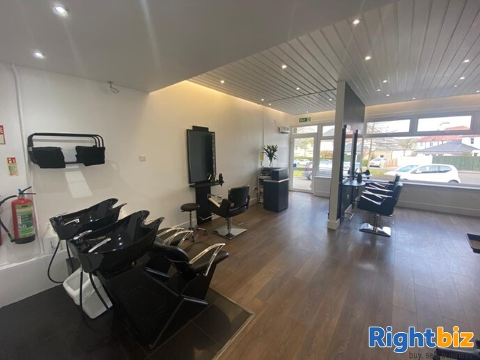 Stunning Well Established Hair Salon in Excellent Location Longniddry - Image 3