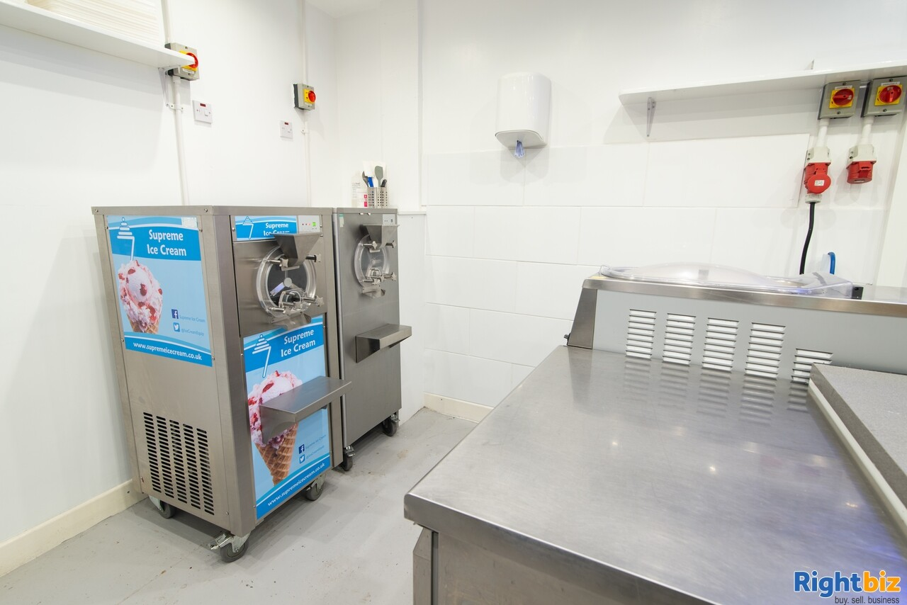 Growing, premium ice cream business - parlour, manufacturing, wholesale, events - Image 3