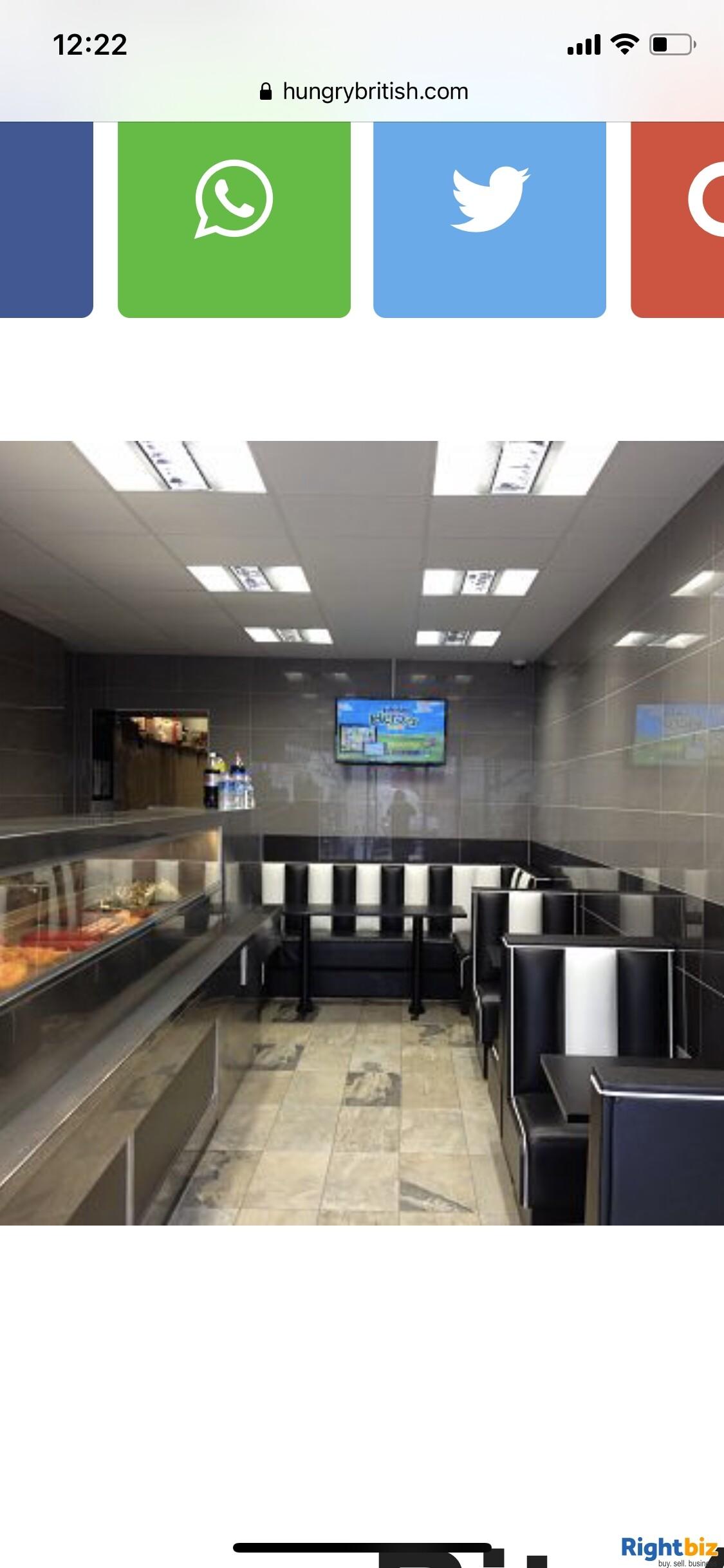 Fish & Chips shop for sale London. 3 Studio flats +1 staff room - Image 3